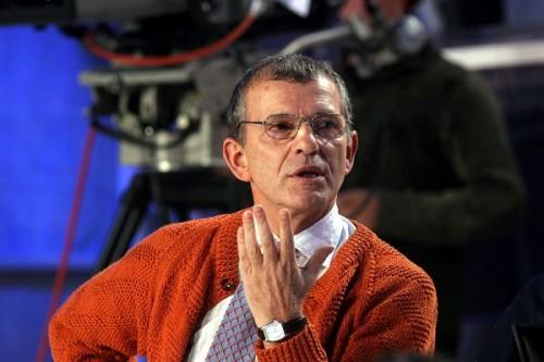 Lo scrittore Aldo Busi